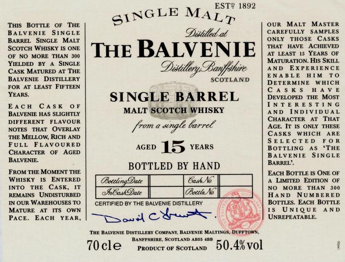 balvenie-15-yo