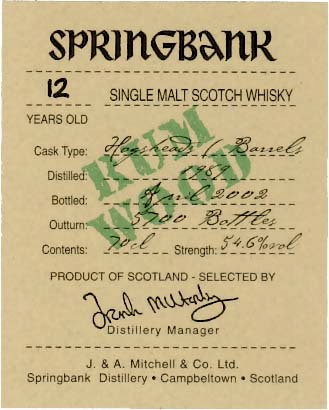 springbank-12-yo-rum-finish