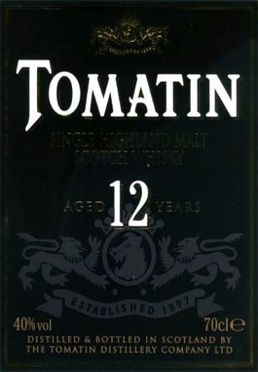 tomatin-12-yo