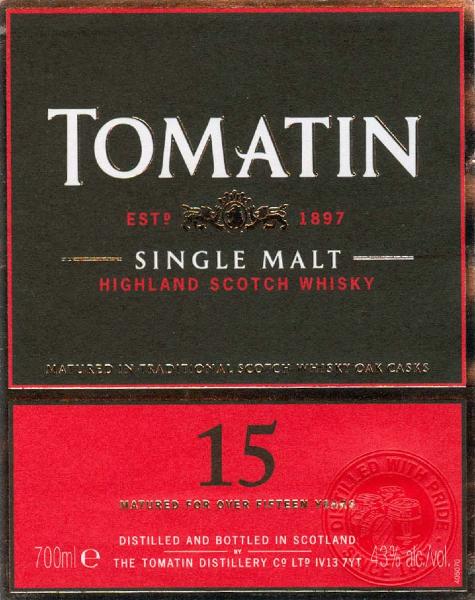 tomatin-15-yo