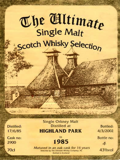 highland-park-the-ultimate-16-yo-1985